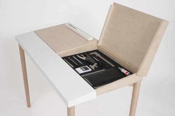 Slope Desk Shoebox Dwelling Finding Comfort Style And
