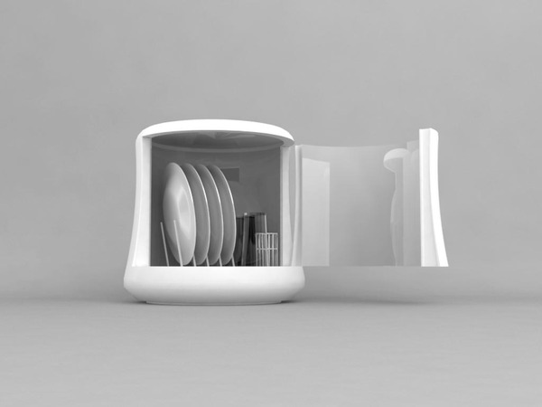 mono dishwasher shoebox dwelling finding comfort