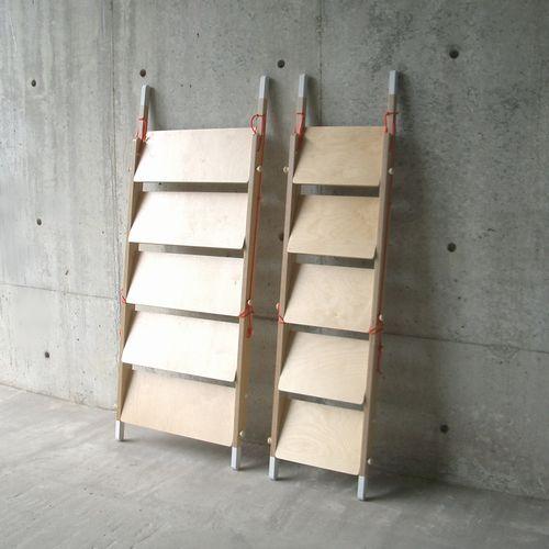 Ladder Rack Shoebox Dwelling Finding Comfort Style