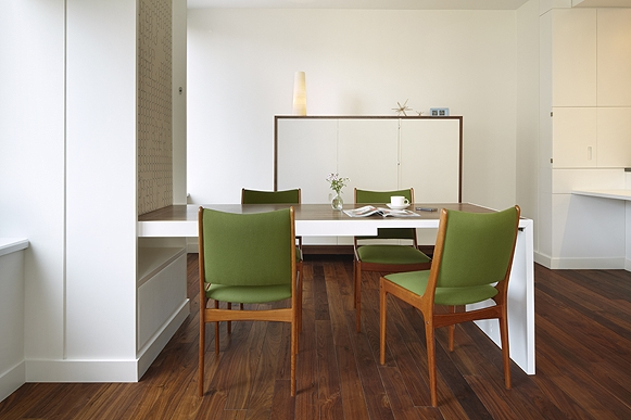 murphy dining table shoebox dwelling finding comfort