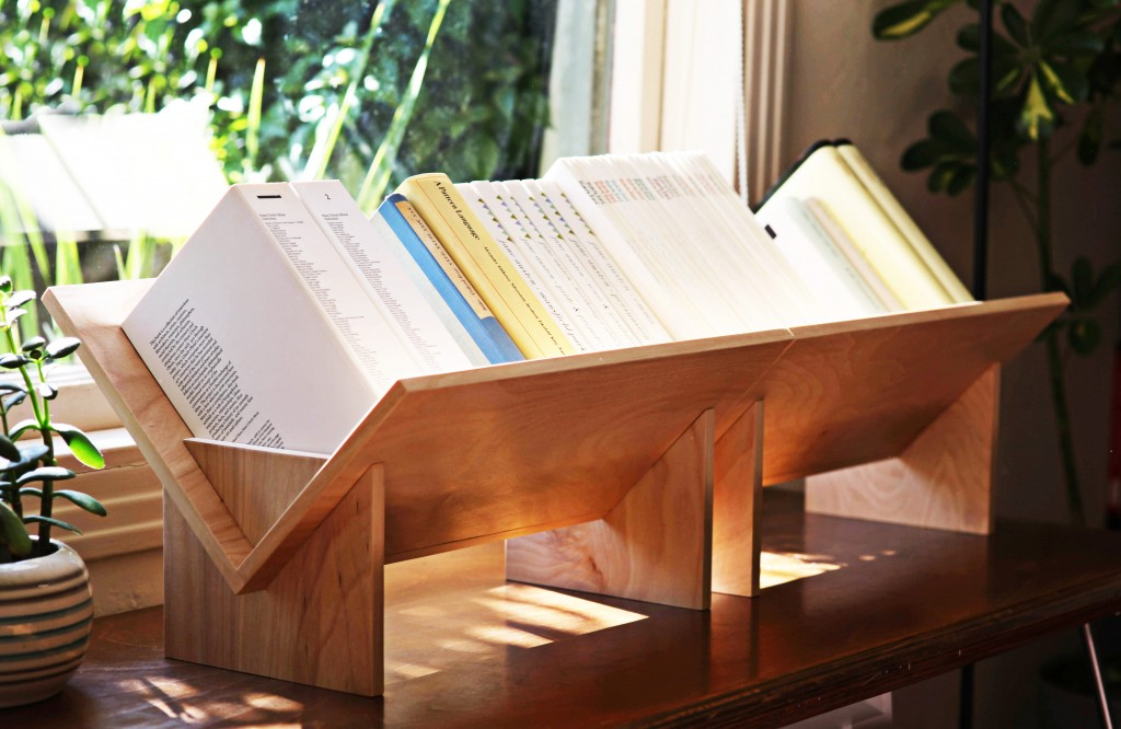 Tabletop Bookcase Shoebox Dwelling Finding Comfort
