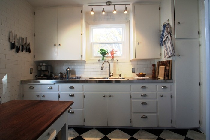 Small Old Kitchen Remodel small kitchen remodel — shoebox dwelling | finding comfort, style
