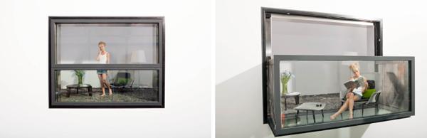 Pullout Balcony Shoebox Dwelling Finding Comfort