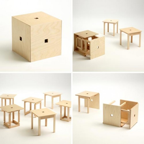 Cube 6 shoebox dwelling finding comfort style and dignity in small spaces - Compact cribs small spaces model ...