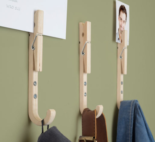 Thse fun hooks are a creation of London based studio Thabto (which wittily stands for Two Heads Are Better Than One). They are merged with pegs for added ... & Storage \u2014 Shoebox Dwelling | Finding comfort style and dignity in ...
