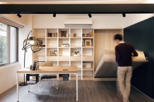 Tiny-Taipei-Loft-Outfitted-With-A-Piano-3