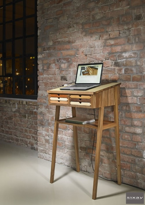Sixtematic Standing Desk Shoebox Dwelling Finding