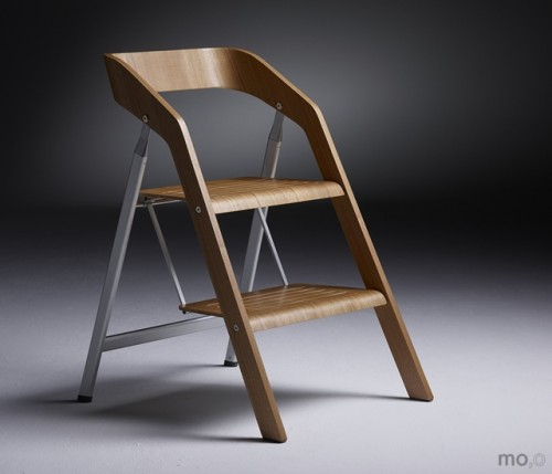 Stepladder Chair Shoebox Dwelling Finding Comfort