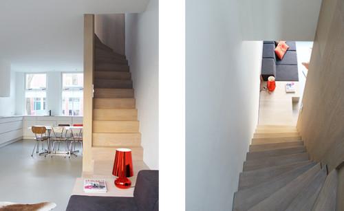 8A Architecten - pied de terre Leiden - trap