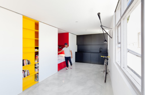 Apartment shoebox dwelling finding comfort style and dignity in small spaces - Studio kitchen ideas for small spaces minimalist ...