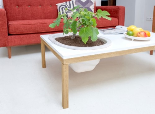Integrated Planters Shoebox Dwelling Finding Comfort