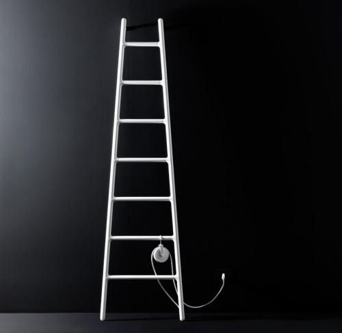 Ladder shaped radiator shoebox dwelling finding for Scaletta decorativa