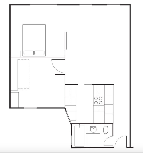 David-Friedlander-Jacqueline-Schmidt-Brooklyn-apt-Matthew-Williams-floor-plan