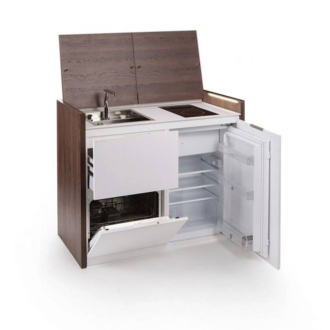 Kitchen Units For Small Spaces: Smart Kitchen For Tiny Spaces — Shoebox Dwelling