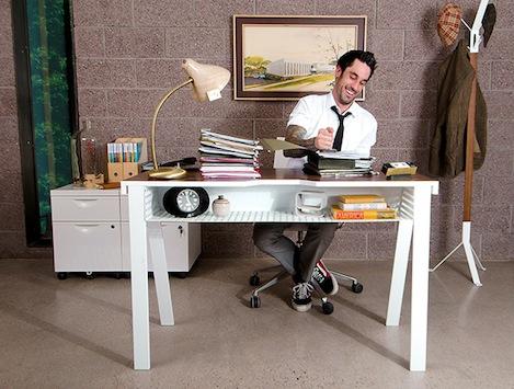 Double Storage Desk Shoebox Dwelling Finding Comfort Style